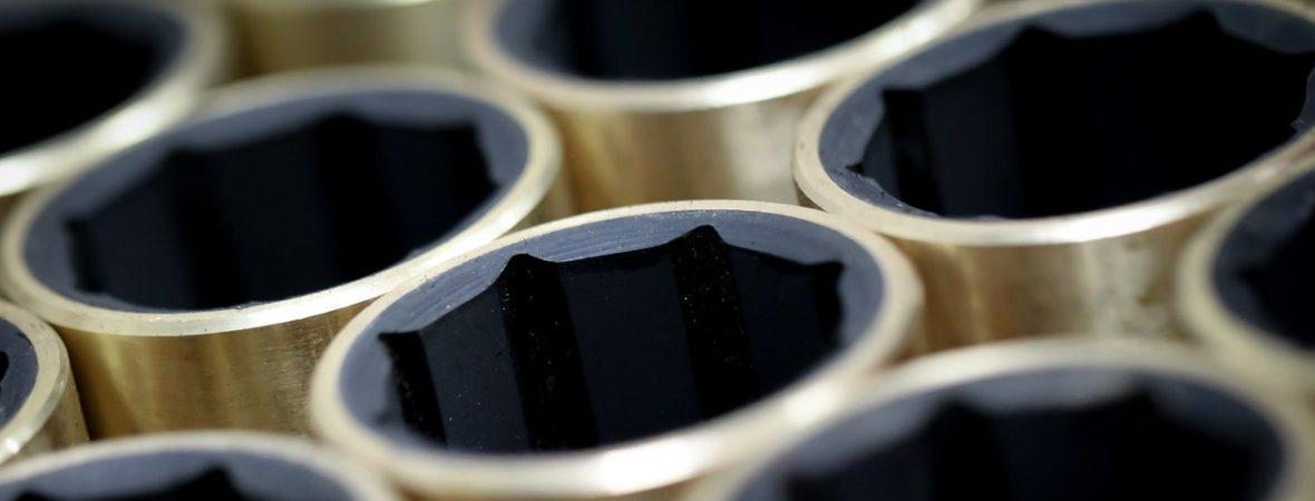 Bagues hydrolubres / Paliers à manchons caoutchouc bronze