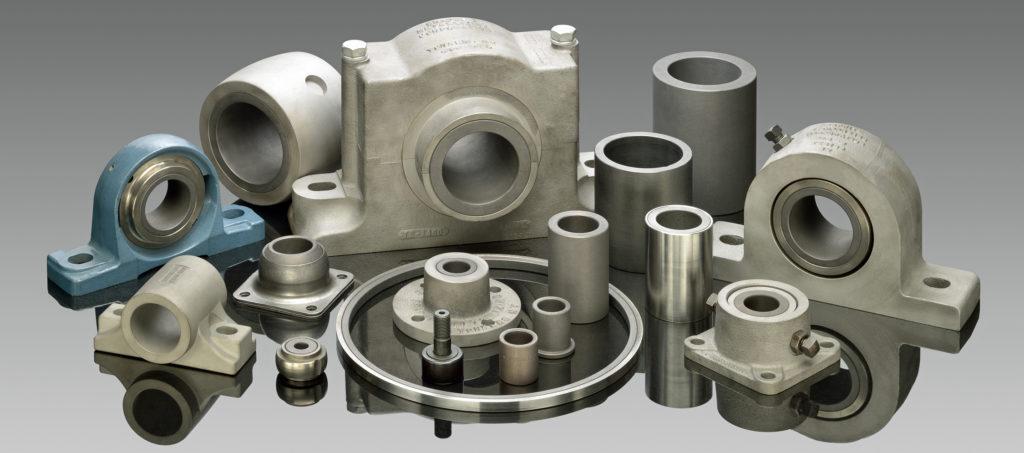 Graphalloy fournisseur mécanique bague auto-lubrifié avec graphite/carbone sur-mesure pour pompes et applications à hautes températures