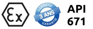 Accouplements ATEX, conformes API671, garantis 3 ans
