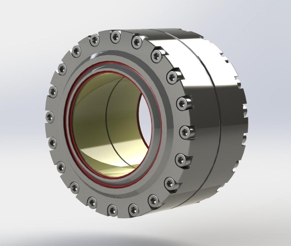 Image de rotule offshore marine ETERNUM D-Glide Matériaux composites Paliers à rotules composites INOX duplex auto-lubrifié fortes charges