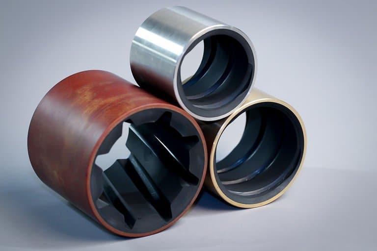 Différents types de bagues Exalto Coussinets hydrolubes