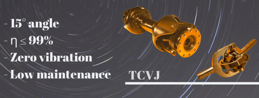 THOMPSON COUPLINGS -TCVJ-HEADER - transmission vitesse constante cardans homocinétique marine navire bateau