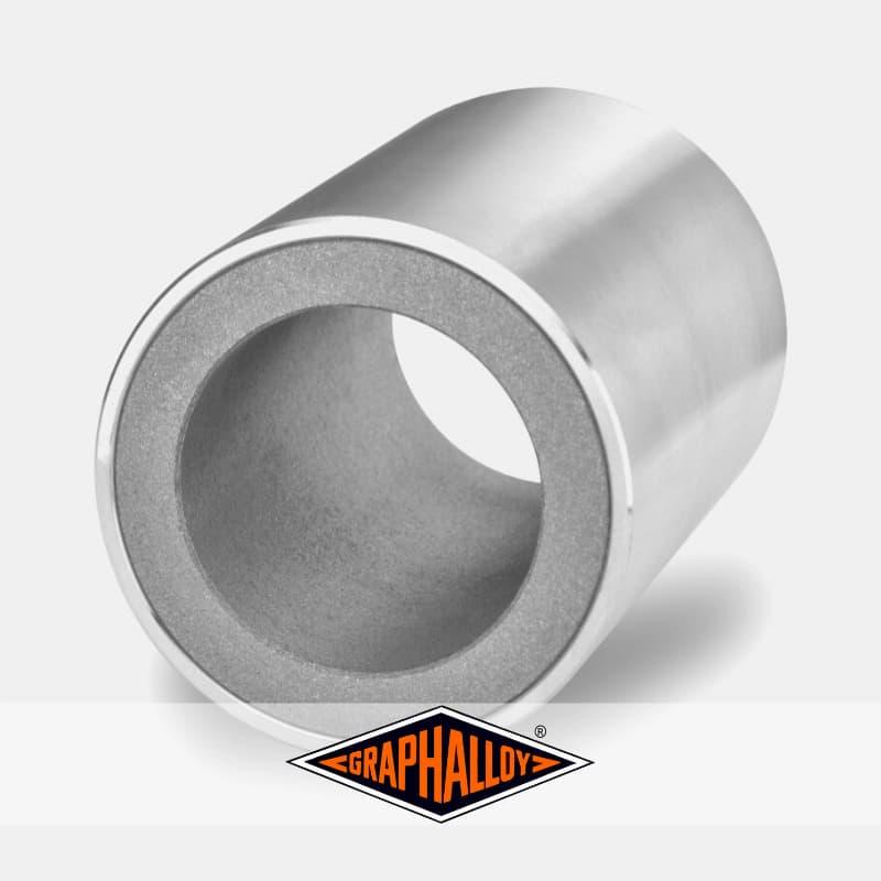 Bague de guidage graphalloy alliage chemise haute température graphite bushings