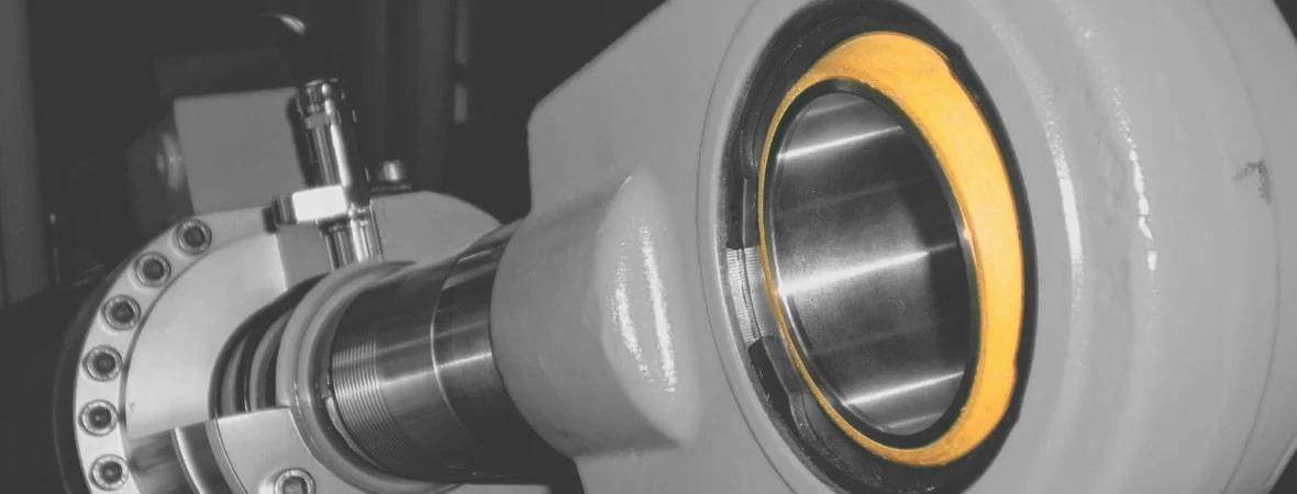 Rotule maritime sphérique à coussinet composite acier inox ou duplex